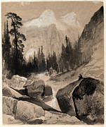 Thomas Moran - The North Dome Yosemite California by Thomas Moran