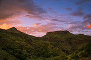 Scenic Prints - The Notch at Sunset Print by Aaron S Bedell