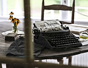 Typewriter Keys Prints - The Novel Print by Claudette DeRossett
