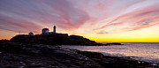 Cape Neddick Lighthouse Posters - The Nubble Poster by Steven Ralser
