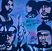Jay Z Paintings - The NYC side by Tony B Conscious