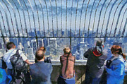 New York State Paintings - The observatory on Empire State Building by George Atsametakis