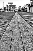 Atlantic Beaches Prints - The Ocean City Boardwalk Print by JC Findley