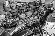 Throttle Framed Prints - The Office monochrome Framed Print by Steve Harrington