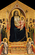 Famous Artists - The Ognissanti Madonna by Giotto