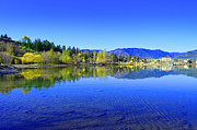 Tara Turner Framed Prints - The Okanagan Blues Framed Print by Tara Turner