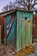Antique Outhouse Framed Prints - The Ol Shack Outhouse Framed Print by Lee Dos Santos