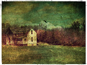 Grunge Digital Art - The Old Abandoned House by Cassie Peters