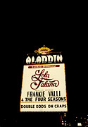 Aladdin Photos - The old Aladdin Hotel and Casino sign by Robert Estes