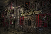 Bank Posters - The Old Anchor Pub Poster by Erik Brede