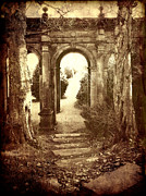 Archways Digital Art Posters - The Old Arch Poster by Steve Crompton