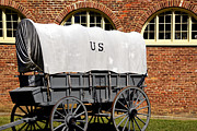 Harpers Ferry Posters - The Old Army Wagon Poster by Paul W Faust -  Impressions of Light
