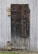 Old Barn Pastels - The Old Barn Door by Olde Time  Mercantile
