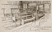 The Old Birmingham Meeting House, 1893 Print by Walter Price