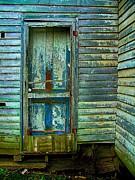 The Old Blue Door Print by Julie Dant