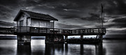 Nature Scene Photo Metal Prints - The Old Boat House Metal Print by Erik Brede