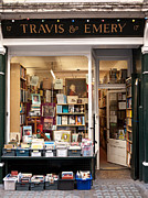 Shopfront Prints - The Old Bookshop Print by Rick Piper Photography