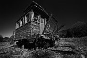 Caboose Framed Prints - The Old Caboose Framed Print by David Giral