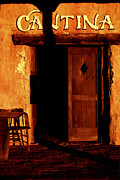 Old West Prints - The Old Cantina Print by Paul W Faust -  Impressions of Light