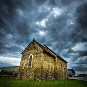 Benedict Metal Prints - The Old Church. Metal Print by Gary Gillette