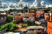 Turkey Pyrography Metal Prints - The Old City  Metal Print by Mark Alexander