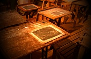 Bob Pardue - The Old Classroom Desk