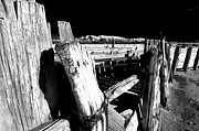 Corral Metal Prints - The Old Corral Metal Print by Cat Connor