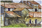 The Old Cotton Barn Print by Barry Jones
