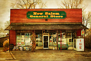 Grocery Store Framed Prints - The Old Country Store Framed Print by Randall Nyhof