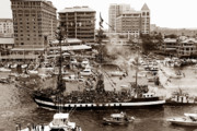 Harbor Photos - The old crew of Gaspar by David Lee Thompson