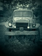 Decrepit Photos - The Old Dodge by Edward Fielding