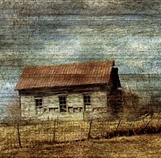 Rural Decay  Digital Art - The Old Farm by Cassie Peters