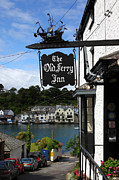 Sailing Ship Posters - The Old Ferry Inn Poster by James Brunker