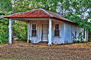 Abandoned School House. Framed Prints - The Old General Store Framed Print by Danny Pickens