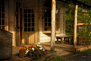 Porches Prints - The Old General Store Print by Lois Bryan