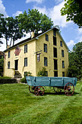 Grist Mill Posters - The Old Grist Mill near Valley Forge Poster by Bill Cannon