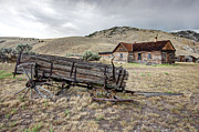 Bannack Montana Prints - The Old Homestead Print by Daniel Hagerman