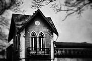 Haunted House Metal Prints - The Old House Metal Print by Marco Oliveira