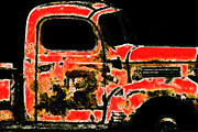 Truck Prints - The Old Jalopy 7D22382 Print by Wingsdomain Art and Photography