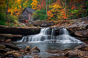 Grist Mill Prints - The old Mill  Print by Emmanuel Panagiotakis