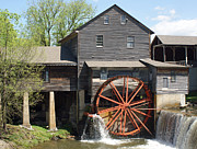 The Old Mill In Pigeon Forge Print by Roger Potts