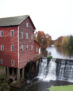 Feed Mill Framed Prints - The Old Mill Framed Print by Jacalyn Feit
