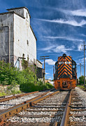 Railway Art - The Old Mill by Marcia Colelli
