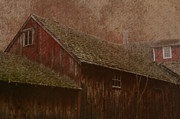 Pa Barns Posters - The Old Mill Poster by Photographic Arts And Design Studio