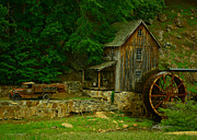 Patterson House Prints - The Old Mill Print by Renee Patterson