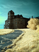Dreamy Infrared Photo Art Posters - The Old Odd Fellows Home Color Poster by Luke Moore
