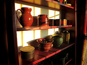 Old Pitcher Photo Prints - The Old Pantry Print by Olivier Le Queinec