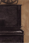 Arthur Barnes Art - The Old Piano by Arthur Barnes