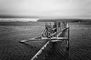 Thomas Berger Metal Prints - The old pier Metal Print by Thomas Berger