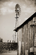Del Rio Tx Prints - The Old Ranch Print by Amber Kresge